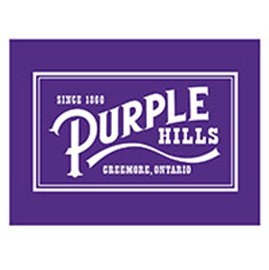 purple hills cannabis logo