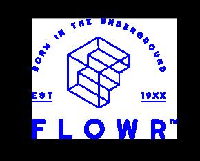 Flowr cannabis stacked logo